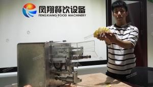 新品上市,爆品来袭—凤翔自主研发新产品:苹果削皮切圈机