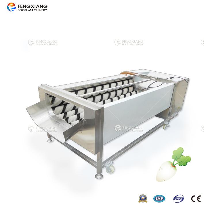 凤翔GL-380 白萝卜去皮清洗机,可去萝卜土豆皮等,外形美观 操作方便,清洗脱皮容积大,效率高,耗能小,白萝卜清洗机 可连续清洗,操作简单,使用寿命长。