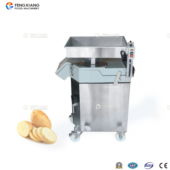 凤翔FC-311-H切丁机, 切大丁机, 切块机, 土豆切块, 萝卜丁, 直立型切菜机,专门用于萝卜、土豆、冬瓜、芋头的方块,切瓣状,四分之一、六分之一或八分之一。