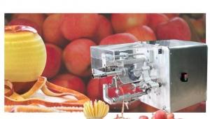 苹果去皮加工有哪些设备,去皮、捅芯、分瓣、切圈凤翔多功能齐备