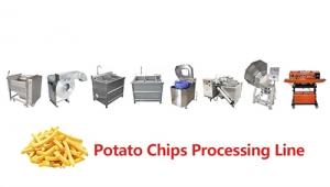 2019年商用小型薯片制造机价格