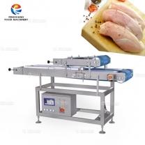 鸡胸肉横部切片机 鲜肉分层切片机
