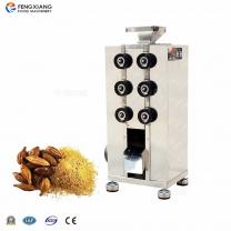 凤翔辊式粉碎机 不锈钢杏仁花生芝麻碾碎机 咖啡豆研磨机