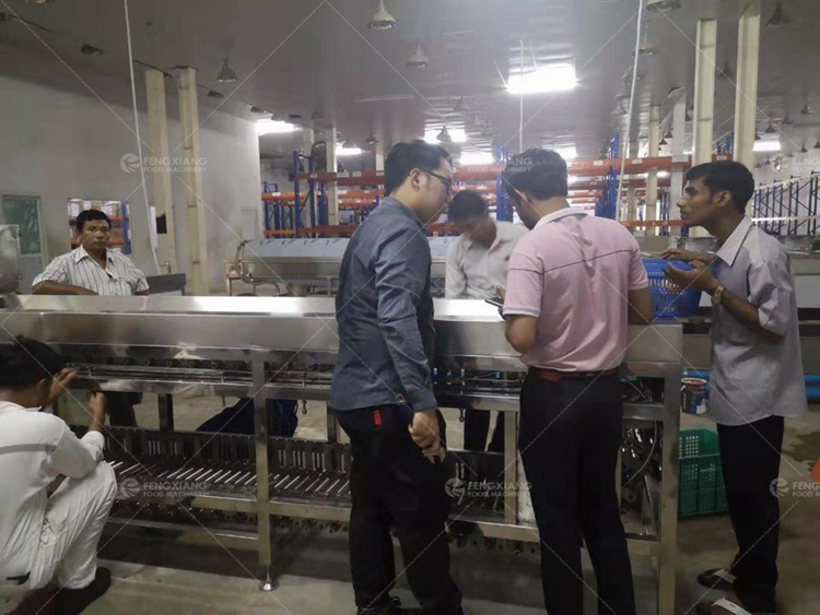 Fengxiang food equipment service support