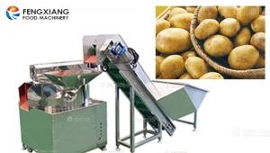 仿人手刀削土豆去皮机价格是多少?