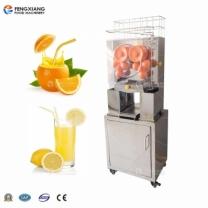 凤翔 立式全自动不锈钢鲜榨果汁机 橙汁榨汁机