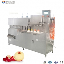 凤翔 苹果削皮取芯分瓣机 高速水果去皮取芯分离机