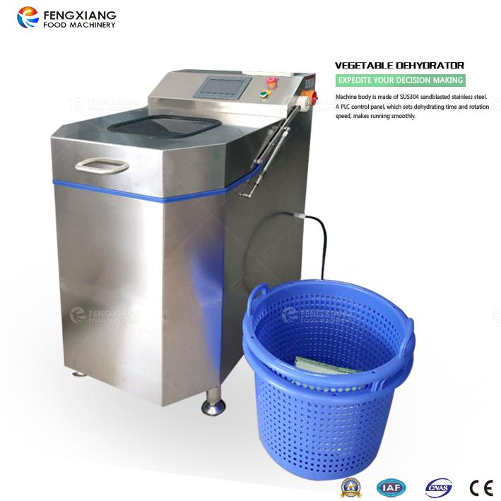 vegetable dewatering machine
