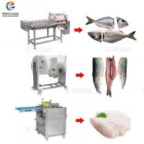 凤翔 鱼类设备合集 鱼头开片去皮设备