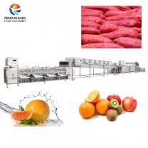凤翔 红薯清洗风干分级线 红薯分选生产线