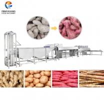 凤翔 红薯清洗风干生产线 红薯地瓜干加工线