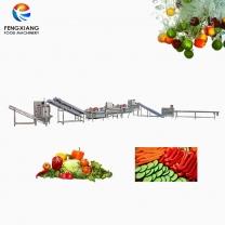 凤翔 沙拉生产线 净菜加工生产线